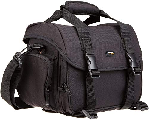 AmazonBasics Medium DSLR Messenger Camera Bag