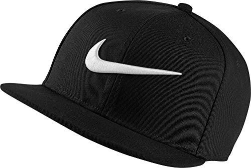 Nike Sportswear PRO Swoosh, Cappellino con Visiera Uomo, Black/Pine Green/Black/White, MISC