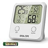 WisFox Thermomètre Hygromètre Numérique, Hygromètre Numérique pour Température...