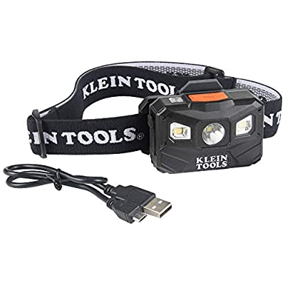 Rechargeable 400 lumen Auto-Off LED Headlamp has 3 modes: All-on/Boost at 400 lumens for 4 hours, Spotlight at 200 lumens for 12 hours, and 22 hour runtime Floodlight at 100 lumens Headlamp automatically turns off after 3 minutes in bright light via ...