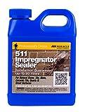 Miracle Sealants 511QT6 511 Impregnator Sealer, Quart, Clear