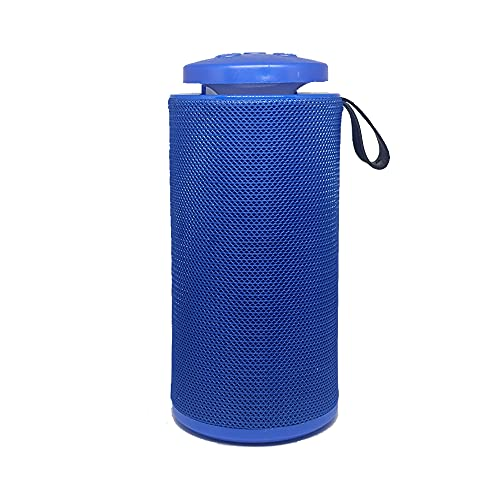 Extra Boom Wireless Bluetooth Speaker With Built In FM, USB, Micro SD Port. Extra Enhanced Bass And Clarity. Compatible With Smartphone, Mp3 Player, PC, Laptop And All Bluetooth Supported Devices. Auto Colour Changing For Great Ambience (Blue)