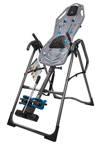 Teeter FitSpine X3 Inversion Table, Deluxe Easy-to-Reach Ankle Lock, Back Pain Relief Kit, FDA-Registered (X3)