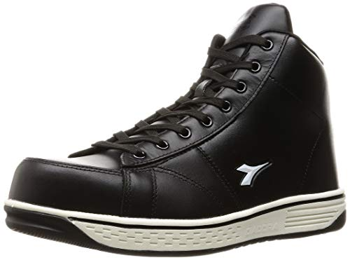 [ディアドラユーティリティ] 安全作業靴 JSAA認定 ハイカット プロスニーカー BUZZARD バザード BZ221 ブラック/ブラック/ホワイト 27.0 cm 3E