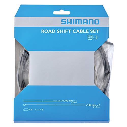 シマノ シフトケーブルセットロード用Steel [Y60098501] OT-SP40 ブラック