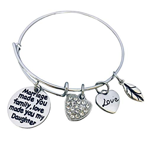 Daughter in Law Bangle Bracelet- Daughter in Law Gifts-...