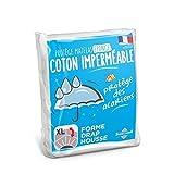 Sweethome | Protège Matelas Imperméable - 140x190/200 cm - Bouclette 100%...