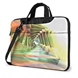 15.6″Durable Hombro Mensajero Bolsa maletín PC Arte Fractal 3D Moda Impermeable Ordenador Portátil/portátil/Tablets