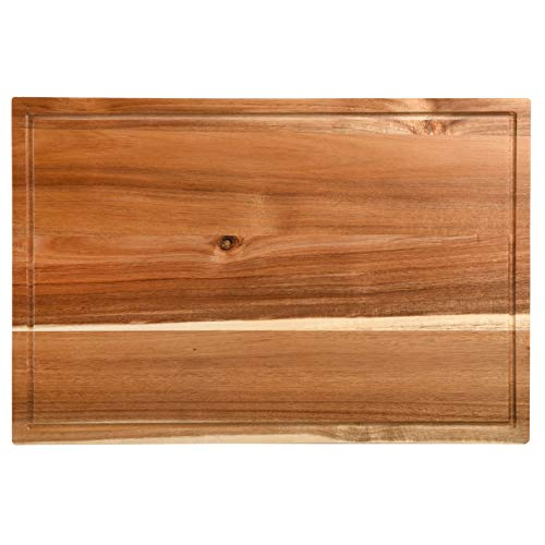 Acacia Wood Cutting Board 24 x 16 inches