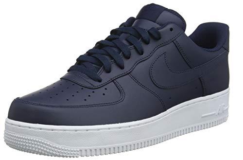 Nike Air Force 1 '07, Zapatillas de Deporte Hombre, Blanco White White, 42 EU