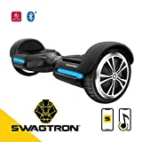 Swagtron T580 App-Enabled Hoverboard w/Speaker Smart Self-Balancing Wheel  Available on iPhone & Android