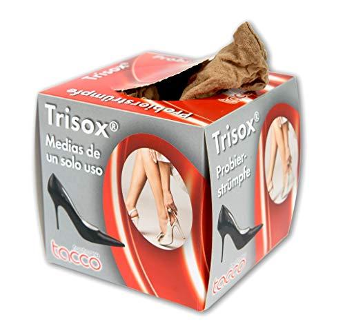 Calze in Nylon 20 Denari Trisox della Tacco, Calze in Nylon Usa e Getta, 144 Pezzi, Calzini Usa e...