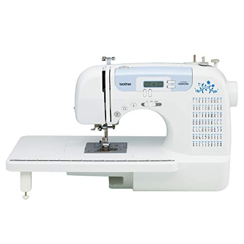 Brother CS7000i Sewing and Quilting Machine, 70 Built-in Stitches, 2.0' LCD Display, Wide Table, 10 Included Feet