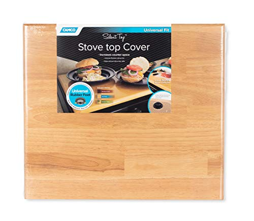 Camco Oak 43521 Universal Stove Top Cover-19 1/2' x 17' by 3/4'...