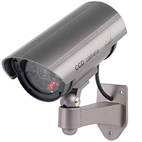 Konig SEC DUMMYCAM30 Telecamera finta CCTV per esterno con LED lampeggiante IR (finto)