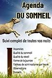 Agenda du SOMMEIL :livre sur le sommeil pour enfant-livre sur le sommeil adulte-mieux...