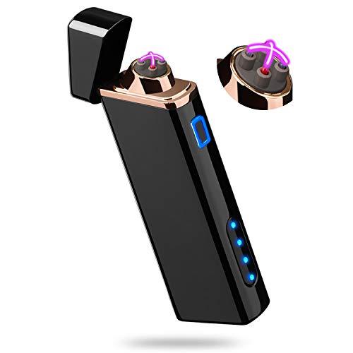 Lighter, Electric Arc Lighter USB Rechargeable Lighter Windproof...