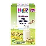 Hipp Biologique 100% Céréales Mes Premières Céréale dès 4 mois - 6 boîtes...