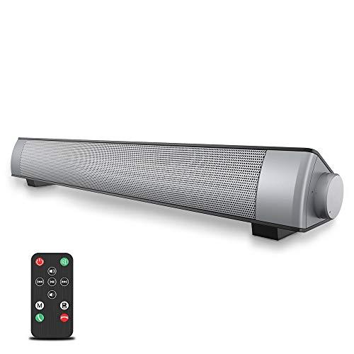 VersionTECH. Soundbar 2.0 Canali, Altoparlante Hi-Fi Suono Surround 3D, Barra Soundbar Bluetooth 4.1...