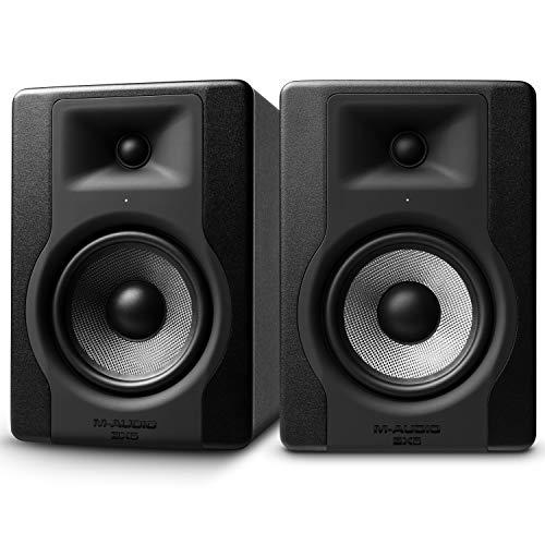 M-Audio BX5 D3 - Coppia Casse Monitor da Studio Attive da 100 W, con Woofer da 5' e Controllo Acoustic Space, Riferimento per Produzione Musicale e Mixaggio