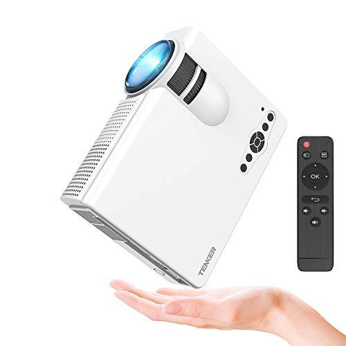 TENKER Q5 Mini Videoproiettore, 1500 Lumens 1080P