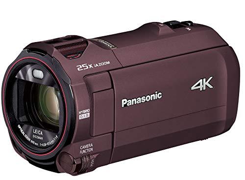 パナソニック 4K ビデオカメラ VX992M 64GB 光学20倍ズーム カカオブラウン HC-VX992M-T