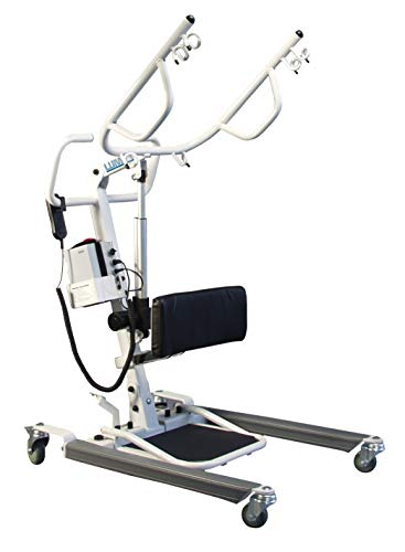 Lumex Sit-to-Stand Battery-Powered Patient Lift, 400 LB Capacity, LF2020
