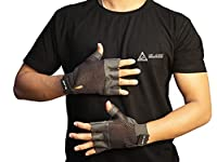 VARIOUS COLOURS AVAILABLE : Start From Black, Blue, Orange, Red, Yellow as per your choice. PREMIUM QUALITY DESIGN :: De jure lightweight gym gloves are made with high quality ultralight microfiber. Breathable meshes and vents on the back keeps your ...
