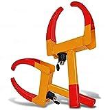 Zone Tech Wheel Lock Security Tire Clamp 2-Pack - Premium Quality Heavy Duty Anti- Theft Protective Vehicle Wheel Lock