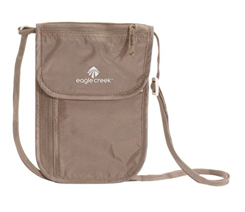 Eagle Creek Undercover Neck Wallet DLX, Khaki Pochette Tour de Cou, 20 cm,...
