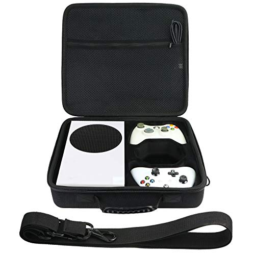 co2CREA Storage Carry Case for Xbox Series S Game Console Wireless Controller (Case Only)