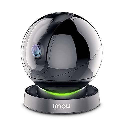 Caméra de sécurité Imou, caméraIP Wi-FI FHD 1080P, caméra dôme panoramique/inclinable, Masque de confidentialité, Audio bidirectionnel et Vision Nocturne
