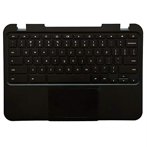 """New 37NL6TC0040 for Lenovo Chromebook N21 Replacement 11.6"""" Laptop Palmrest w/US Keyboard Touchpad 5CB0H70355"""