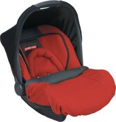 Patron BATMMY212AAK1628S Mimmo Plus - Seggiolino auto per bambini / ovetto, gruppo 0+, da 0 a 13 kg, colore: Rosso peperoncino