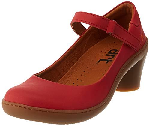 Art Alfama, Zapatos de tacón con Punta Cerrada Mujer, Rojo (Red), 38 EU