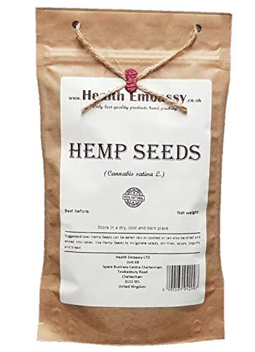 Health Embassy Hanfsamen (Cannabis sativa) / Hemp Seeds, 200g