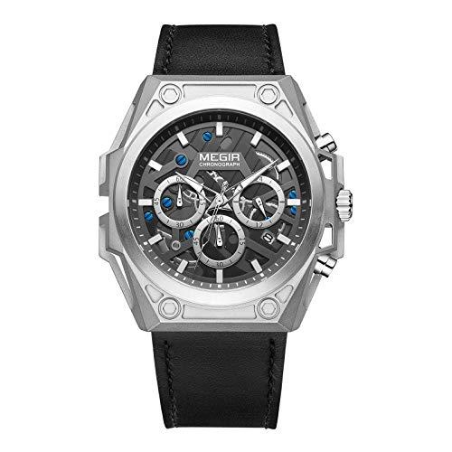 Megir - Herren -Armbanduhr- TTMG4220-Silver
