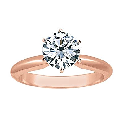Diamond Weight Variance can be +/- 6% as we try to get you the best looking stone Satisfaction guaranteed. Houston Diamond District offers a 30 day return policy on all of its products We only sell 100% Natural, un-treated , conflict free diamonds. O...