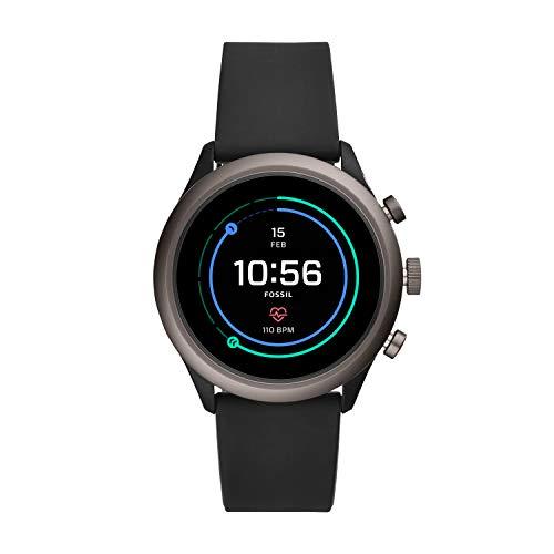 Smartwatch Da Uomo Fossil Con Cinturino In Silicone Ftw4019