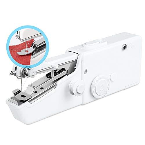 Redmoo Cucitrice Portatile per Tessuti, Mini Macchina da Cucire Portatile con 18 PCS Accessori,...