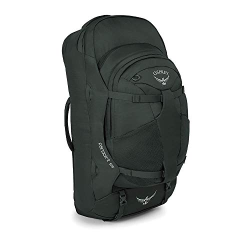 Osprey Farpoint 55 Men's Travel Pack with 13L Detachable Daypack - Volcanic...