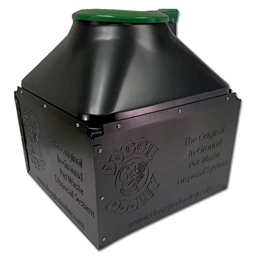 4181eMidSzL - 10 Best Outdoor Dog Poop Container Reviews 2020