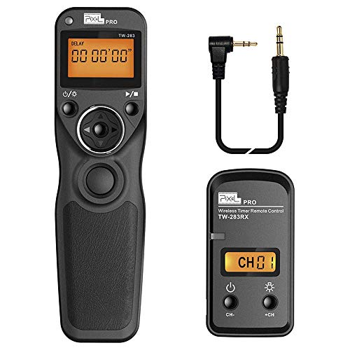 Pixel TW-283 E3 Wireless Shutter Release Cable Wired Remote...