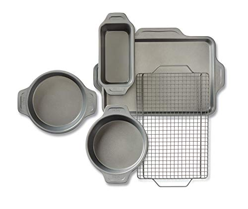 All-Clad Pro-Release bakeware set, 5 piece, Grey