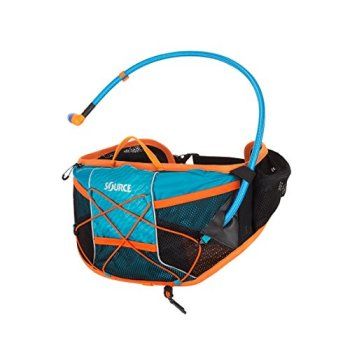 Source Hipster Wave Sac d'hydratation Mixte, Turquoise, 1,5 l