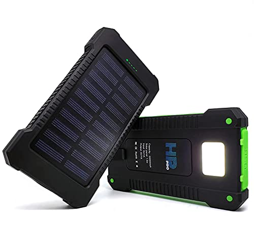 Powerbank Caricabatterie Portatile Solare...