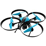 Video Drones with Camera for Adult and Kids – U49W HD FPV Drone WiFi Camera, VR RC Helicopter Spy Toy Drone with Video Camera and Extra Battery