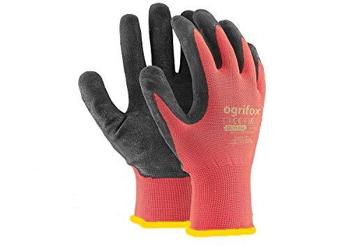 AJS LTD 24paia di guanti da lavoro, rivestiti in lattice durevole, con salda presa, adatti per...