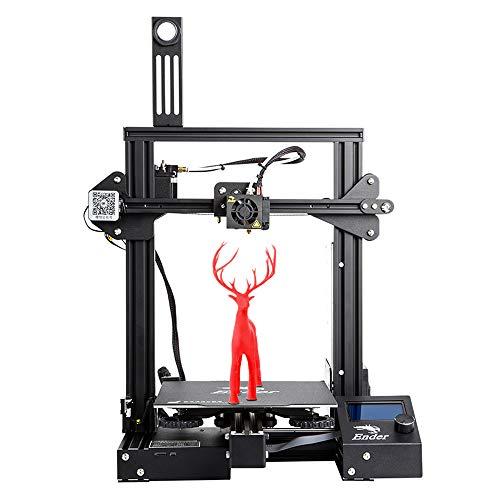 3D-Drucker Offizieller Creality Ender-3 Pro mit abnehmbarer Hotbed-Gebäudefläche, Meanwell Power, abnehmbarer Gebäudefläche, Wiederaufnahme des Druckvolumens 220 * 220 * 250mm