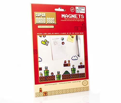 Paladone PP2931NN, Magneti con Super Mario Bros, 80 Pezzi